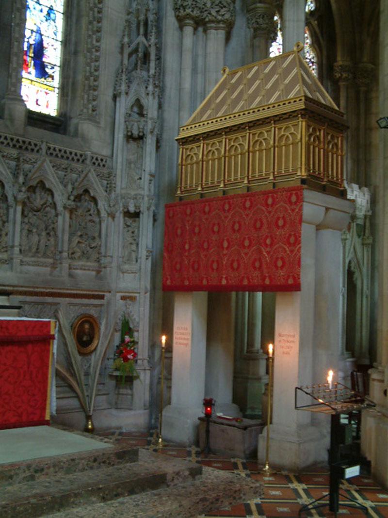 Shrine at Downside Abbey